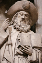 Oviedo Cathedral - Statue Of S...