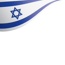 Israel Flag, Vector Illustrati...