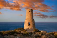 Torre Del Gerro Tower In Denia Of Alicante