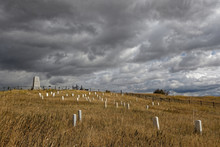 Little Bighorn Battlefield National Monument And Cemetery