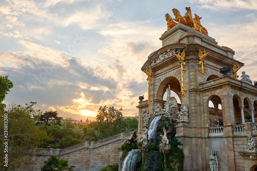 Photo  The Parc de la Ciutadella  in Barcelona