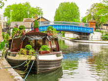 Regent's Canal. Little Venice, London, United Kingdom