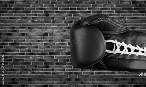 Photo Boxing glove.
