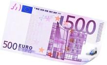 500 Euros Bill - Isolated