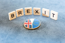 Brexit Concept - National Flag...