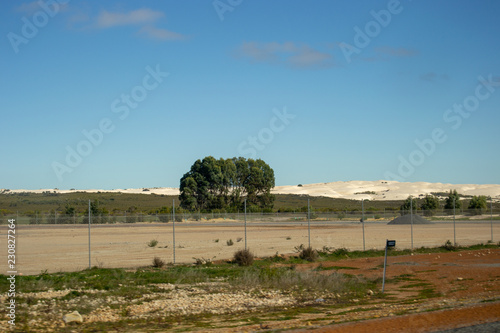 Spoed Foto op Canvas Blauwe jeans Landscape of Perth Outback