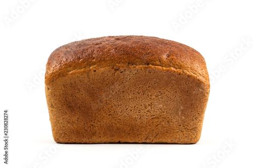 Fotografie, Obraz Fresh bread isolated on white