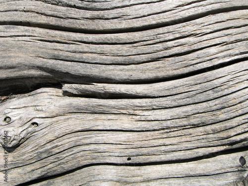 Fotografie, Obraz  Vieille poutre en bois de mélèze