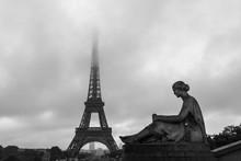 Eiffel Tower, Famous Landmark,...