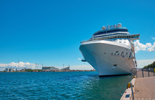 Cruise Ship In The Port Of Cop...