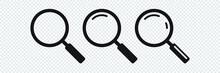 Search Icon. Magnifying Glass ...