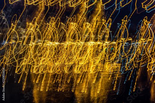Fotografie, Obraz  Marina Lights Abstract 2