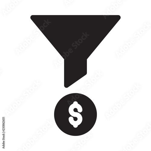 Fotografie, Obraz  sort  funnel  dollar