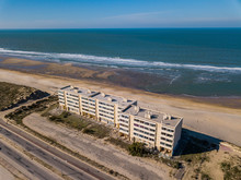 Soulac Sur Mer, France - October 20, 2018: Building The Signal On Dunes