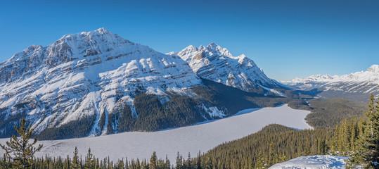 Peyto Lake in Banff National Park
