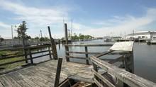 Bayou Old Wooden Dock, Louisiana