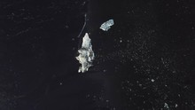 Transparent Ice On Icelandic B...