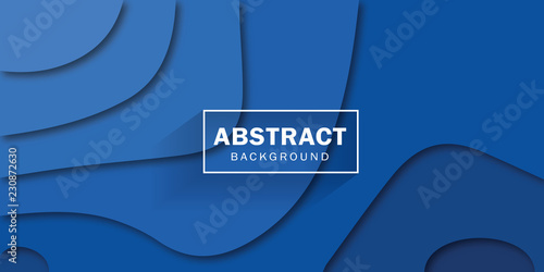 Abstract blue corporate background. Vector design.