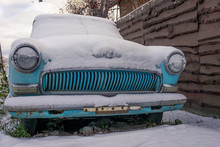 Old Passenger Retro Car