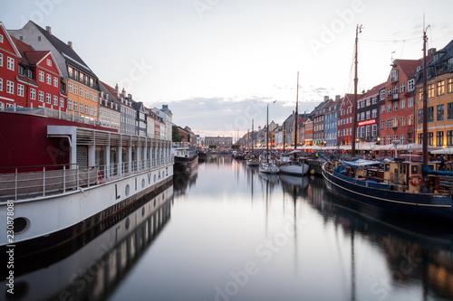 Nyhavn - Kopenhagen Canvas Print