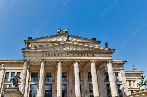 Foto op Canvas Theater Konzerthaus on Gendarmenmarkt square in Berlin downtown, Germany.