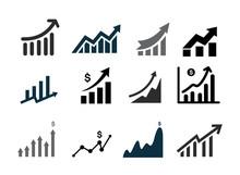 Set Of Profits Icon. Profits T...