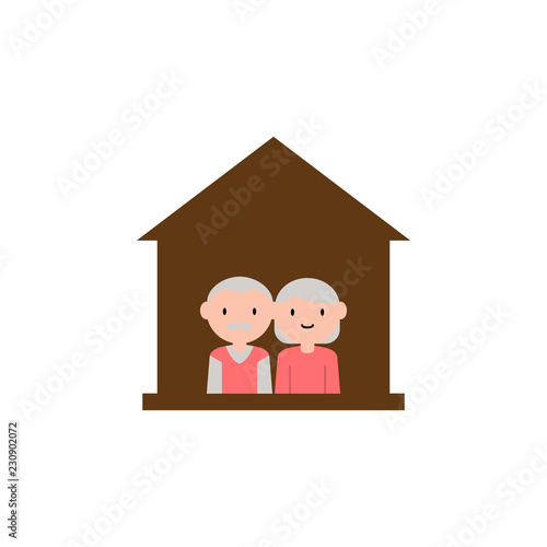 home, grandparents cartoon icon. Element of family cartoon ... on heavy equipment by owner, used mobile home sale owner, mobile home parks sale owner, apartments for rent by owner, mobile homes for rent,