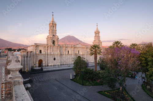 Sunset over Arequipa Wallpaper Mural
