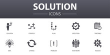 Solution Simple Concept Icons ...