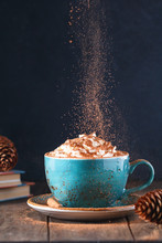 Hot Chocolate With Cream And C...