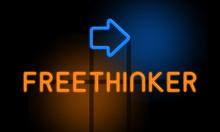 Freethinker - Orange Glowing T...