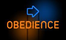 Obedience - Orange Glowing Tex...