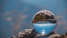 Crystal Ball Alpine Landscape ...