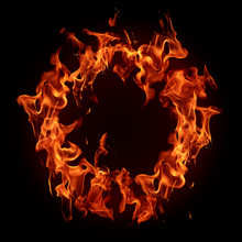 Burning Fire Ring