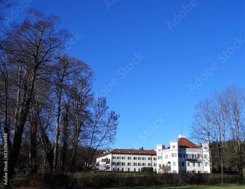 Fotografie, Obraz  Schloß Possenhofen