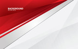 Red abstract backgrund vector, modern corporate concept.