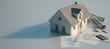 Leinwanddruck Bild - Home purchase  process