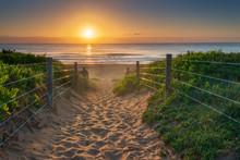 Sunrise At Palm Beach, Austral...