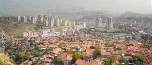 Panoramic View of Ankara - Turkey Wallpaper Mural