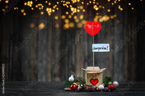 Valokuva  Weihnachtsüberraschung