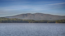 """""""Mitch"""" The Black Mountains Featuring Mt. Mitchell Captured From Lake James"""