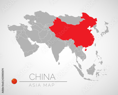 Map of Asia with the identication of China. Map of China ... Color Map Of Asia on beijing map asia, color map south america, color map australia, color us map, world clock asia, pyramids of asia, color europe map, north asia, color map united states, shape of asia, compass of asia, color map africa, world map asia, citytime zone map asia, educational maps of asia, coloring pages of animals in asia, color map egypt,