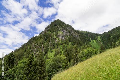Fotobehang Landschap Mountainous landscape in the Allgau. Bavaria. Germany.