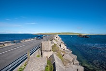 Churchill Barrier No. 3, Built During World War II To Protect The Natural Harbour Of Scapa Flow, South Ronaldsay, Orkney, Scotland, United Kingdom, Europe
