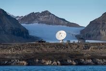 Research Station On Polar Coast