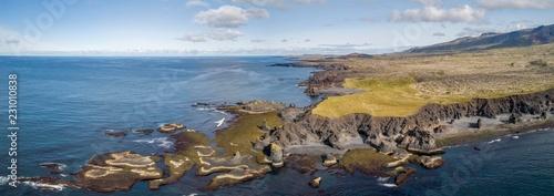 Rocky coast, Djupalonssandur, Snaefellsnes Peninsula, Iceland, Europe
