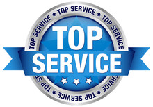 "Button Banderole ""Topservice"" ..."