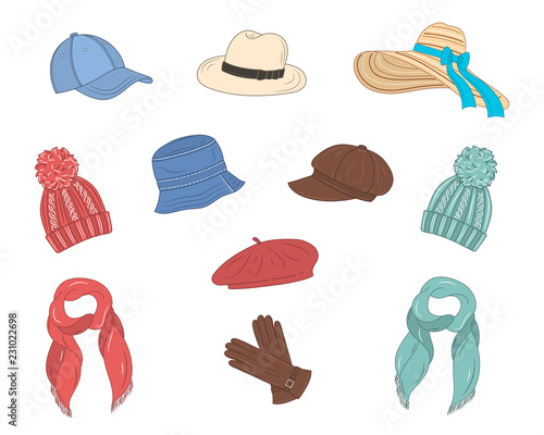 Different types of hats 4db52c74361