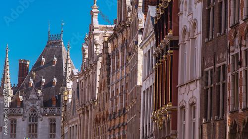 Poster Brugge Buildings in Bruges, Belgium