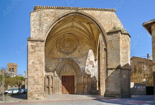 Church of San Salvador, Sanguesa, Spain